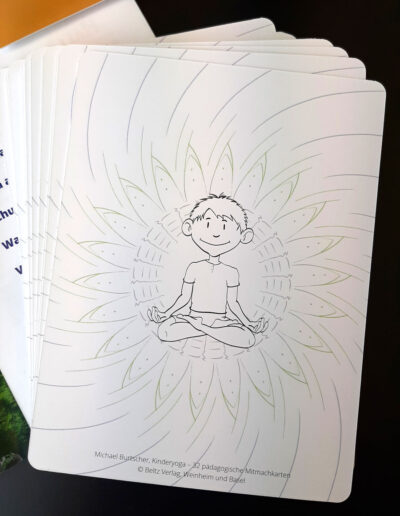 Kinderyoga Yogakarten Illustrationen
